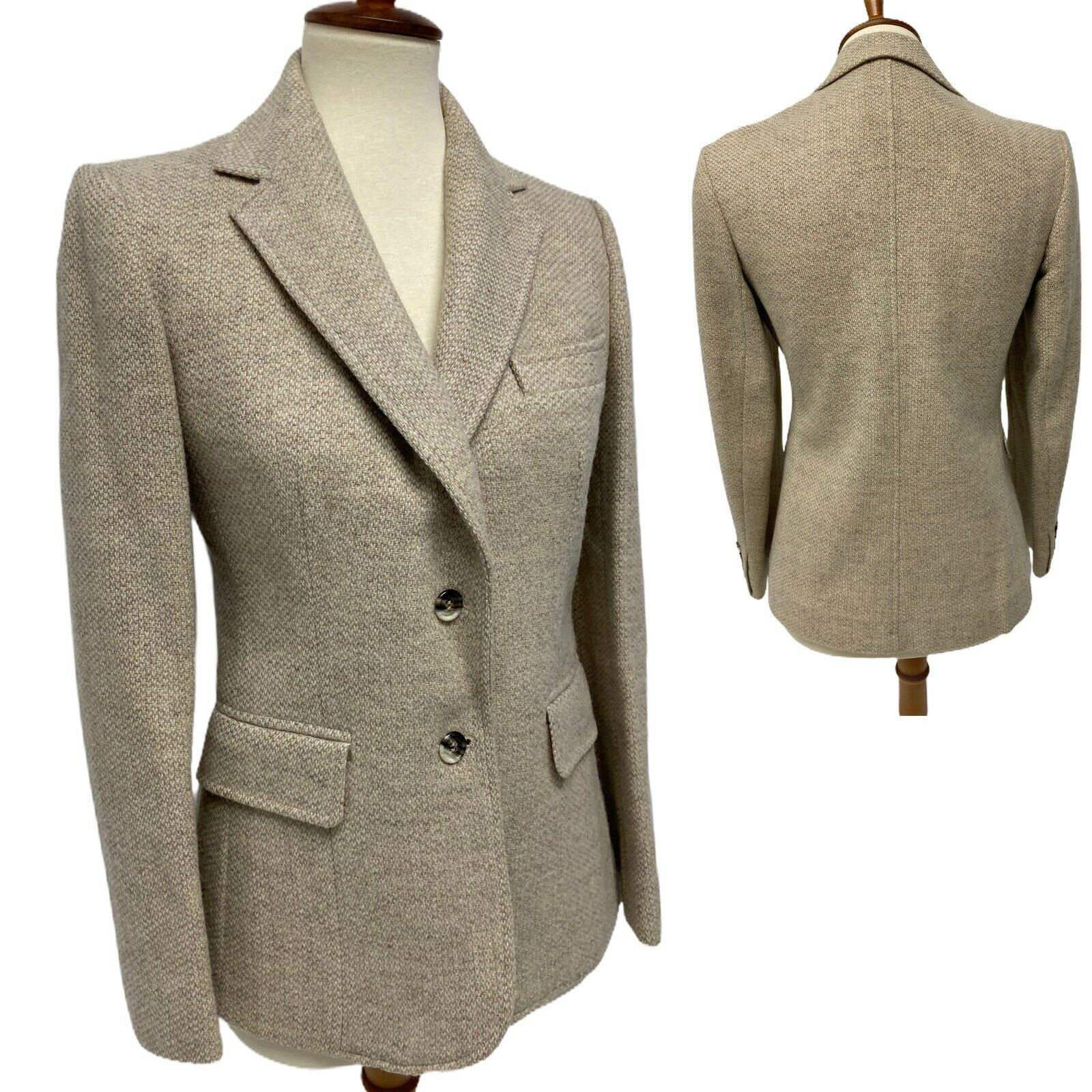 Primary image for Vintage Evan Picone women's blazer wool two button front size M