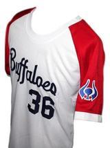 Masato Yoshi #36 Kintetsu Buffaloes Japan Baseball Jersey White Any Size image 4