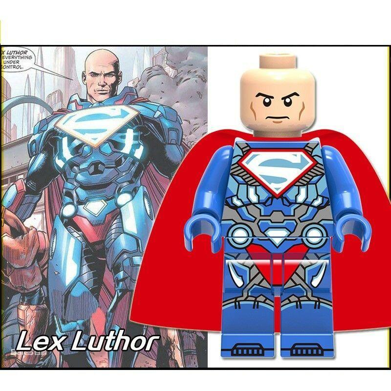 Lex Luthor Superman DC Universe Lego Minifigures Block Toy Gift for Kids