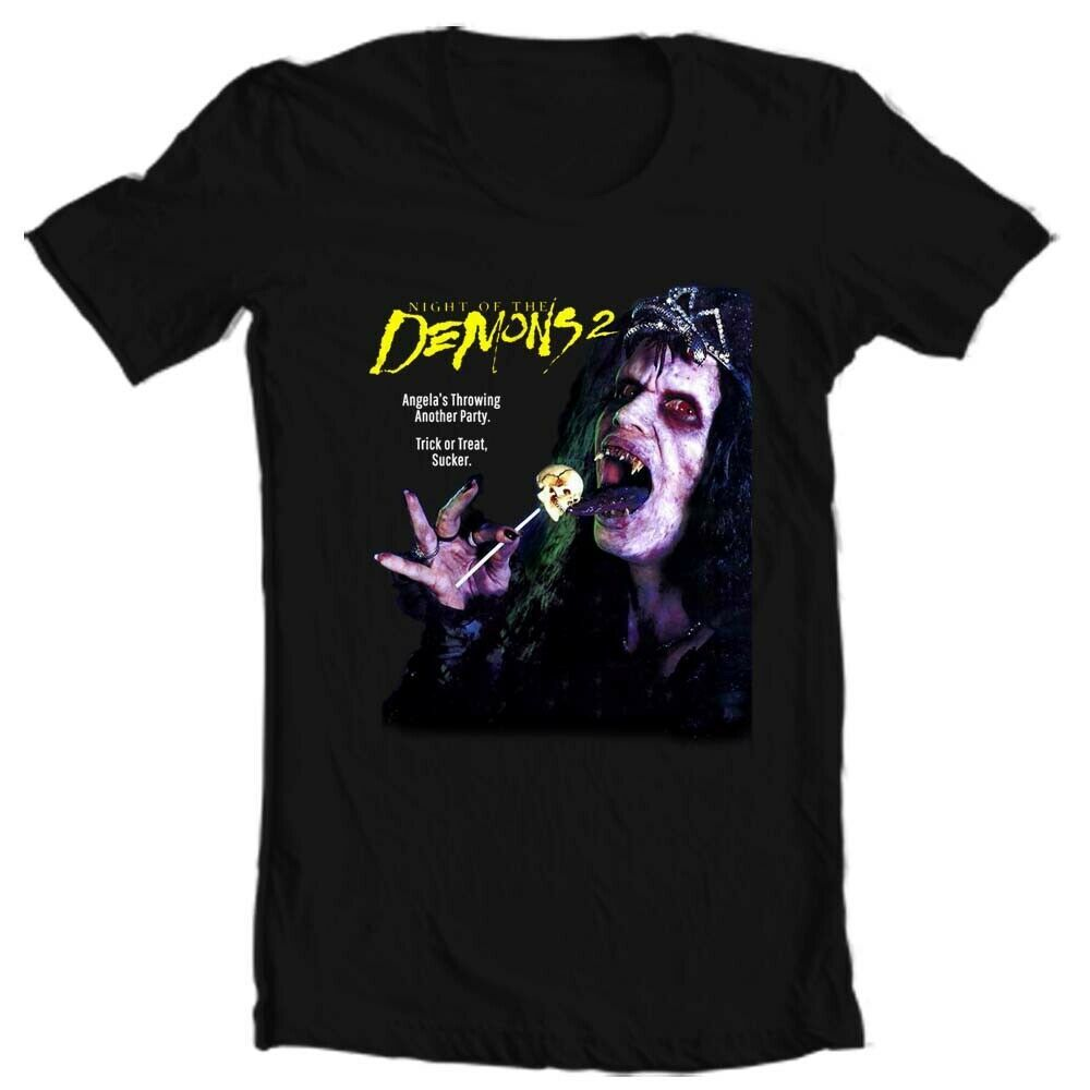 Night of the Demons 2 T-Shirt retro vintage 1990s horror movie graphic tee shirt