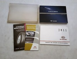 2011 Kia Optima Owners Manual 04818 - $31.63