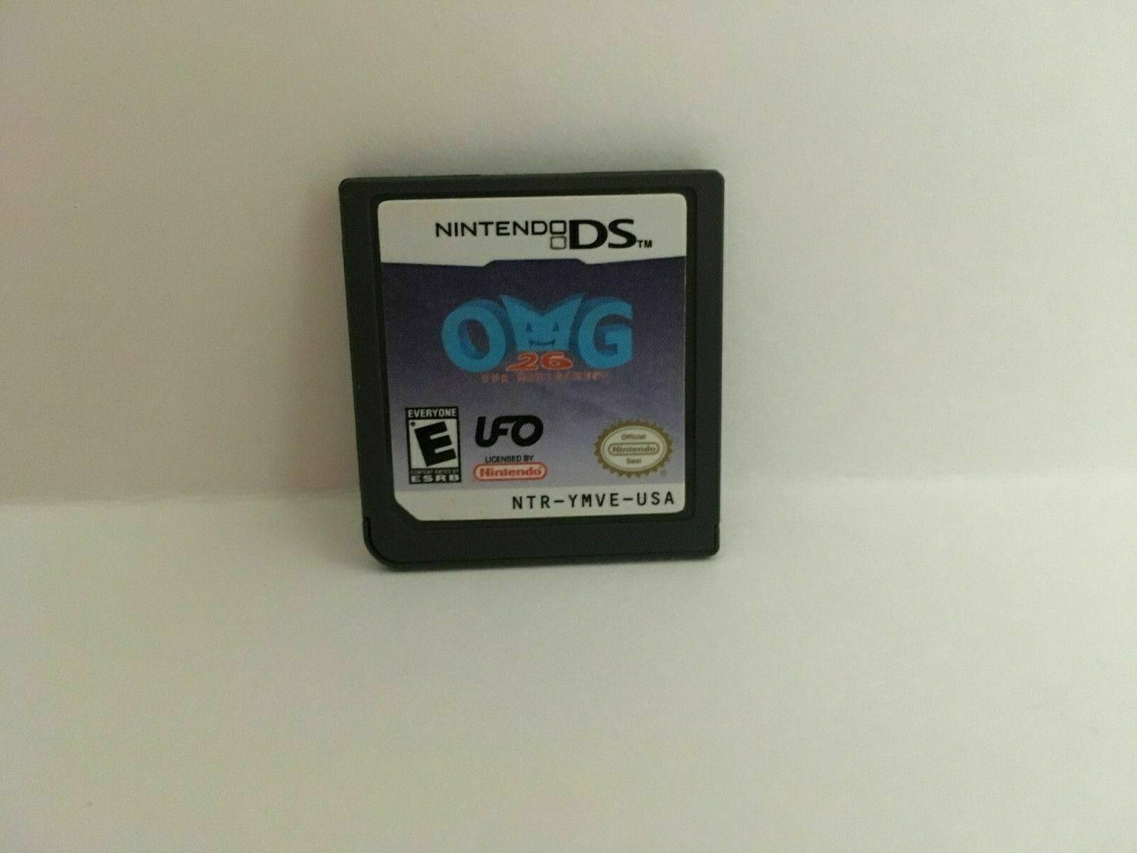 OMG 26 Our Mini Games (Nintendo DS, 2007) Complete in box, USA SELLER