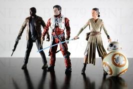 Rey BB8 Finn Poe Dameron Star Wars Elite Series die-cast Loose Skywalker Lot Set - $29.99