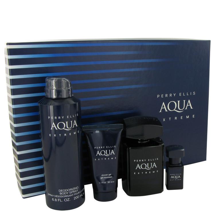 Primary image for Aqua Extreme by Perry Ellis Gift Set 3.4 oz Eau, Men