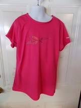 Reebok Pink Play Dry  Short Sleeve Shirt Size XL (16) Girl's EUC - $16.00