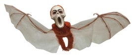 Flying Monkey Prop Winged Hanging Decor Halloween Haunted House VA789 - €29,07 EUR