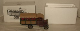 Department 56 Heritage Village Poinsettia Delivery Truck Accessory Christmas - $18.81
