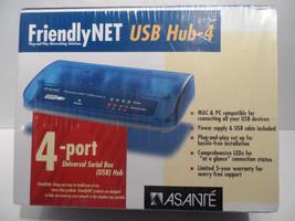 Asante FriendlyNet USB 4-Port Hub 99-00568-01 New / Factory Sealed NIB NIP - $12.67