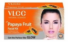 VLCC Papaya Fruit Single Facial Kit 60 gm Free Shipping - $11.16