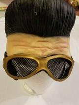 Rare 2003 Paper Magic Group Elvis Presley Latex Mask Halloween for Costume - $39.19