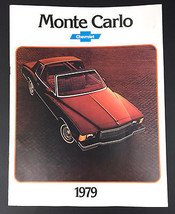 Vintage 1979 Monte Carlo Chevy Chevrolet Car Sales Brochure 11 pages - $10.84