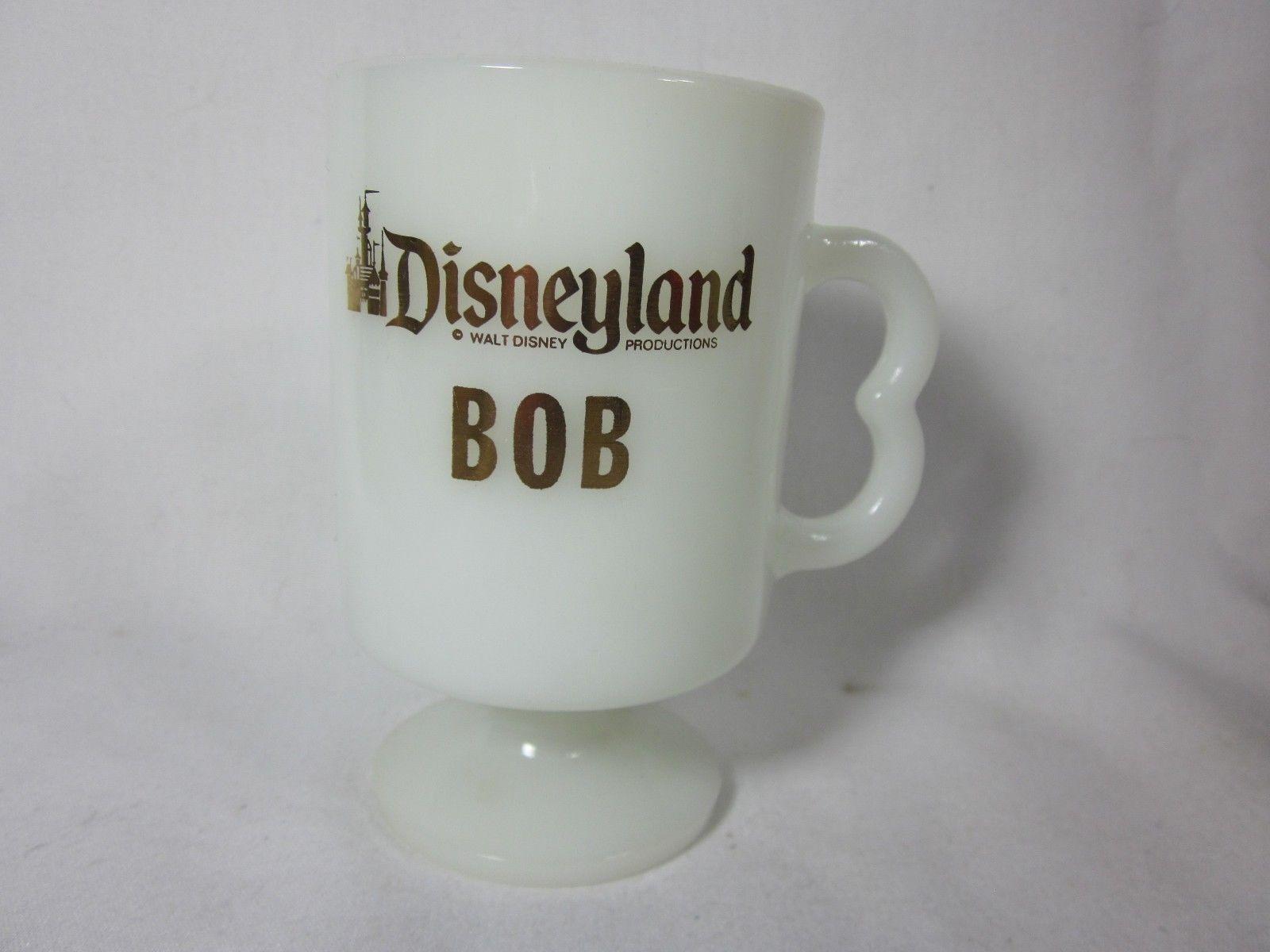 Vintage Disneyland Walt Disney Retired Cup BOB