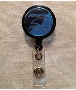 Nfl Carolina Panthers Badge Reel Id Holder Blue Birthday Handmade New - $6.95