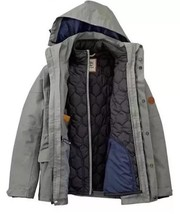 NWT TIMBERLAND MEN'S 3-IN-1 WATERPROOF FIELD JACKET HOODED A1AIF. SIZE: M - $175.00