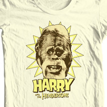 Harry and Hendersons T-shirt retro 80s TV show 100% cotton  graphic tee NBC296 image 1