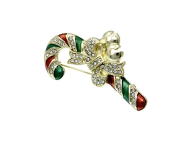 Christmas Cane Pin & Brooch - $12.95