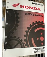 2018 2019 2020 2021 honda trx680fa/Barcelona rincon four trax service shop ma... - $129.21