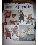 Simplicity 9375 Angels Craft Sewing Pattern Pearl Louise Designs - $3.99