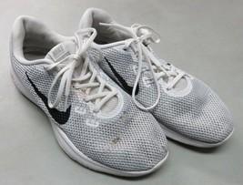 Nike Flex Trainer Womens 898479-100 White Silver Cross Training Shoes Si... - $6.92