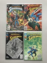 Lot of 9 Adventures of Superman (1987) from #426-523 VF Very Fine - $19.80