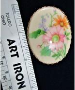 HALLMARK Floral Medallion Pin - $2.00