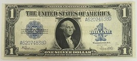 1923 $1 One Dollar Large Silver Certificate Blue Seal Extremely Fine Hig... - $119.50