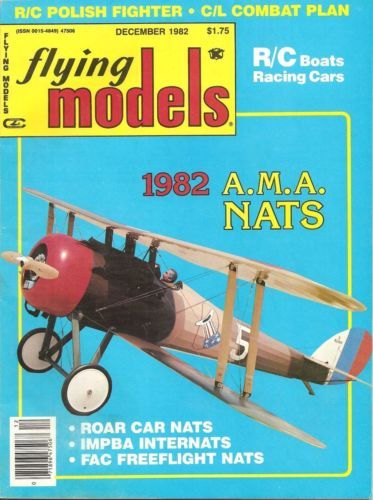 Primary image for Vintage Flying Models Magazine Vol 85 Issue No 12/545 - December 1982