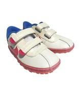 Nike SMS Roadrunner 344487-102 Girls 3 Baby Sneakers Shoes Leather White... - $17.33