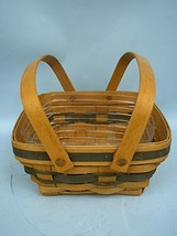 Longaberger Bayberry Basket With Liner 1993 - Signed & Dated - $32.45