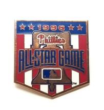 VTG MLB Baseball 1996 Philadelphia Phillies Allstar Game Lapel Pin Liber... - $9.75