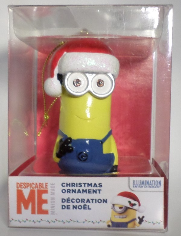 Kurt S Adler Despicable Me Christmas Tree Ornament Minion cartoon movie gift