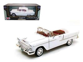 1955 Chevrolet Bel Air Convertible Soft Top 1:18 Diecast Car Model by Mo... - $58.46