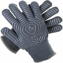 Grill Armor Extreme Heat Resistant Oven Gloves - One Size Fits Most, Gray - $40.88