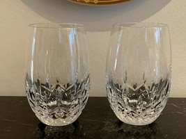 "Waterford Lismore Nouveau White Wine Tumblers 4 3/4"" Set of 2 - $119.00"