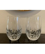 """Waterford Lismore Nouveau White Wine Tumblers 4 3/4"""" Set of 2 - $119.00"""
