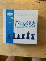 Solitaire Chess ThinkFun Brain Fitness Game - Brand New open box - $14.84
