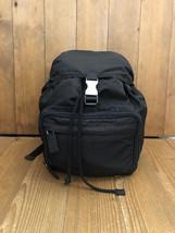 Authentic PRADA Black Tessuto Backpack Bag - $495.00