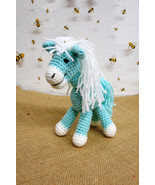 Amigurumi Horse,handmade crochet,nursery decoration,baby shower, stuffed... - $476,05 MXN
