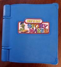 Vintage 1991 Mattel See 'N Say Story Maker Silly Sentences Worm Blue Book - $30.46