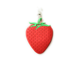Red Strawberry~ Travel Suitcase ID Luggage Tag and Suitcase Label - $8.95