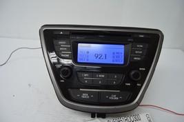 2011-2013 Hyundai Elantra Radio Cd Player Oem Radio 96170-3X165RA5 Testd S60#023 - $30.69