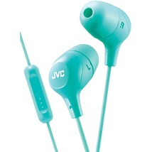 JVC HAFX38MG Marshmallow Inner-Ear Headphones with Microphone (Green) - $35.15