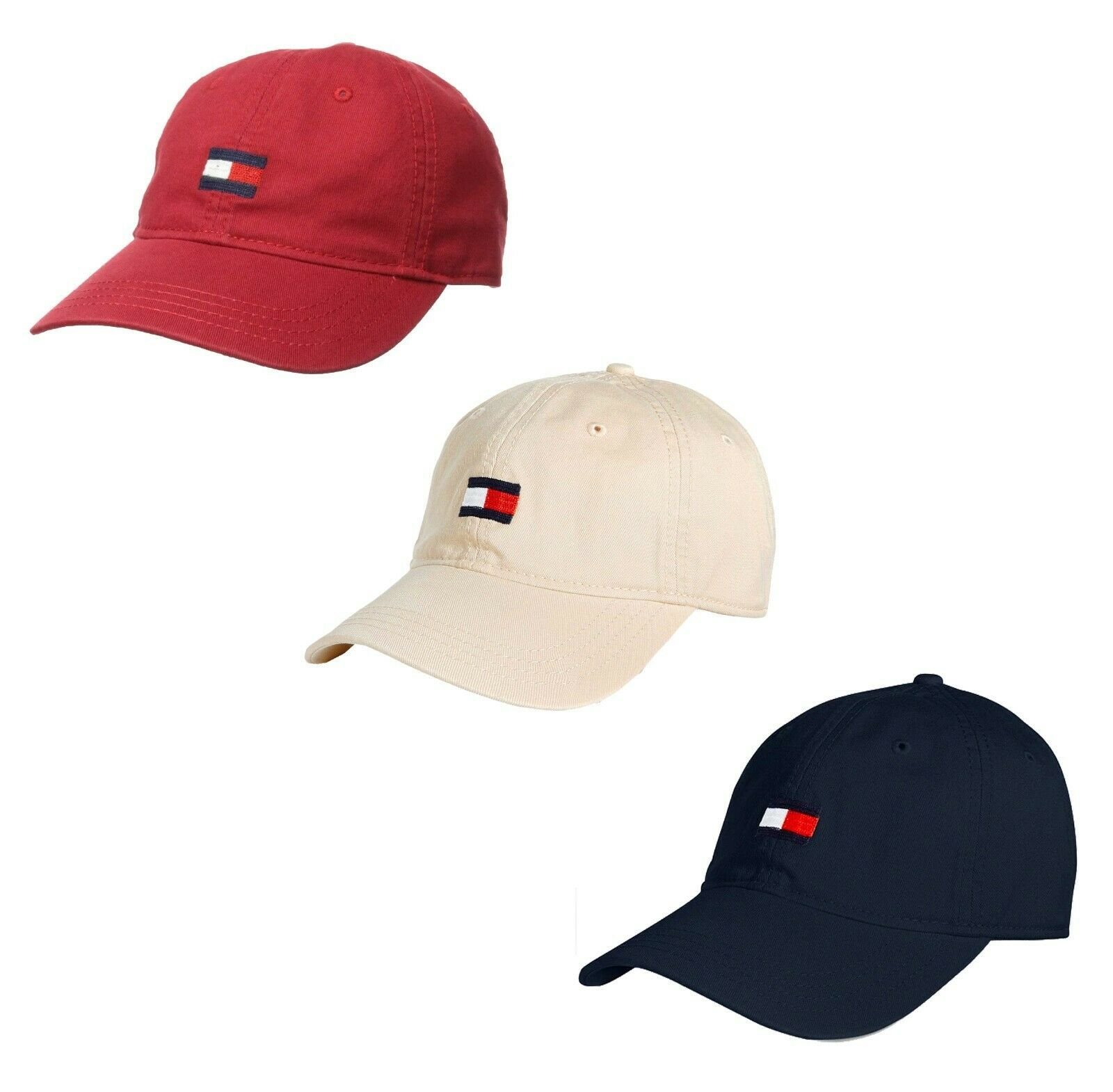 Tommy Hilfiger Men's Tommy Hat Embroidered Logo Sport Baseball Cap 69JI459 411