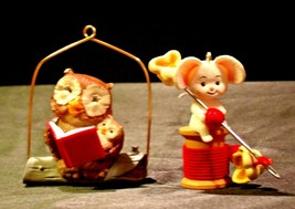 Hallmark Handcrafted Ornaments AA-191769-C Collectible ( 2 pieces ) - $29.95