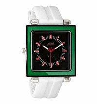 Flud Rivington ( Grn / Rd / Schwarz) Armbanduhr Mit 3 Anders Bänder Brandneu IN image 2