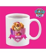 New Ceramic White Printed Paw Patrol Skye Kids Cartoon Tea Coffee Mug 11... - $15.83