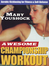 Awesome Speed & Power Aerobic Kickboxing & Weight Workout DVD Mary Youshock - $19.99