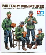 1/35 German Soldiers At Rest Kit No 3629 Series No. 129 - $8.75