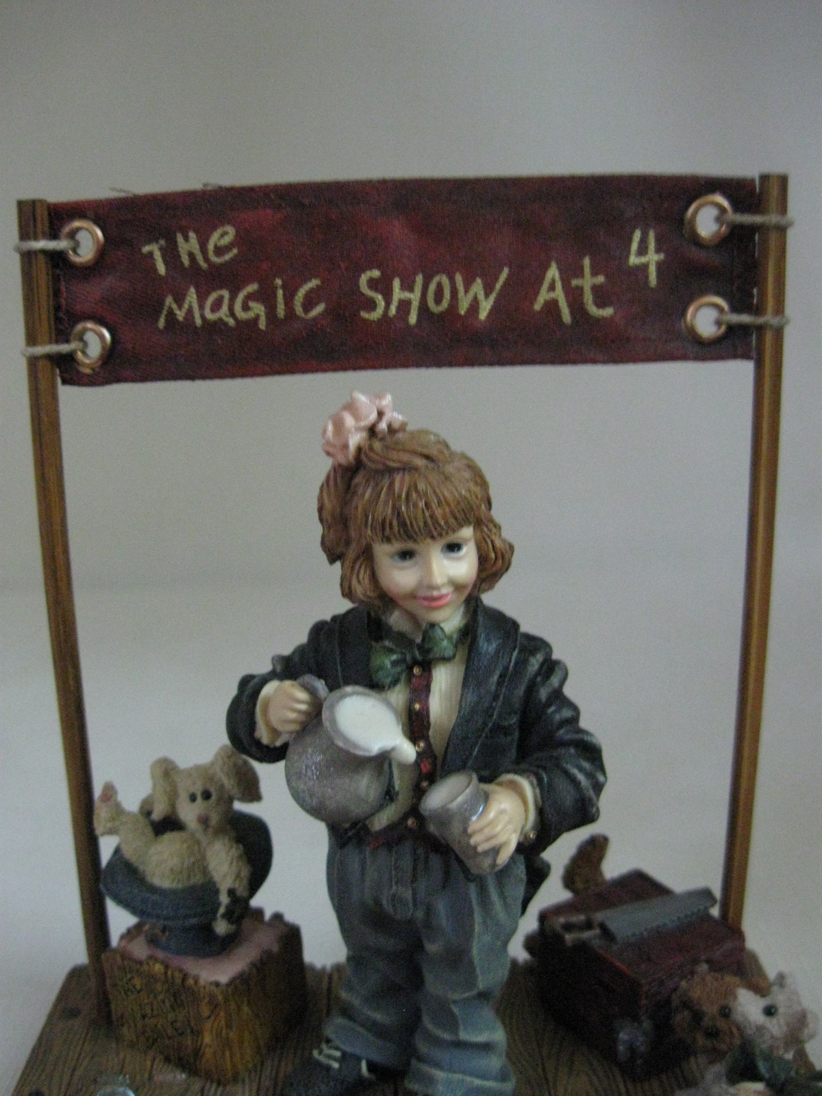 Yesterdays Child Figurine The Magic Show at 4 Limited Edition Boyd's Collection image 2