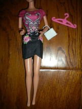 Mattel 2000's Barbie Doll Dress, Purse, Hanger 3Piece Set - $8.91